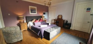 Capercaillie king double room with mountian view